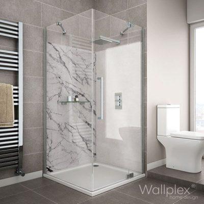 Wallplex fürdőszobai falburkoló márvány minta