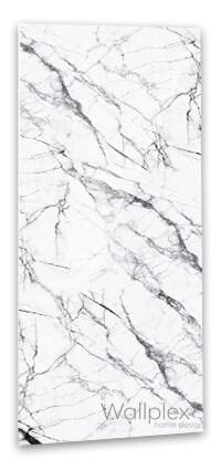 Fehér márvány fürdőszobapanel