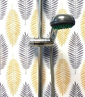 trópusi levelek zuhany wallplex