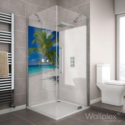 pálmafa zuhany